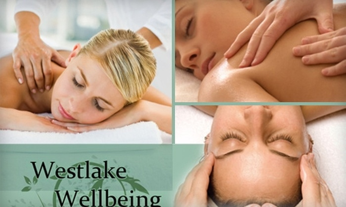 Westlake Wellbeing - West Lake Hills: $69 for a Hot Herbal Foot Treatment, Deluxe Aromatherapy Massage, and Facial Massage Treatment at Westlake Wellbeing