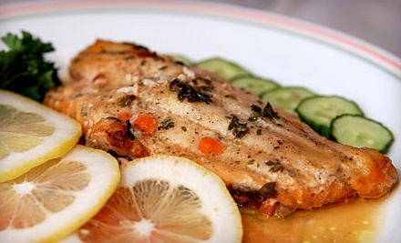 $20 Groupon to Anke & Tony's Seafood Restaurant - Anke & Tony's Seafood Restaurant in Sudbury