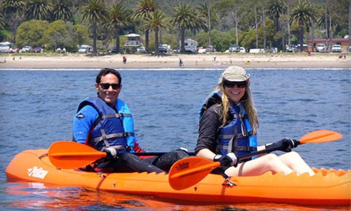 Captain Jack's Tours - West Downtown: $25 for a Santa Barbara Harbor Kayak Tour with Captain Jack's Tours ($50 Value)