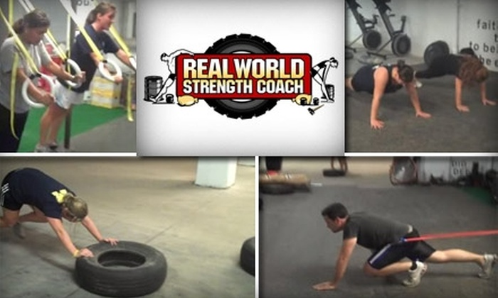 Real World Strength Coach - Manayunk: $40 for Four Individual Workout Sessions at Real World Strength Coach ($99 Value)