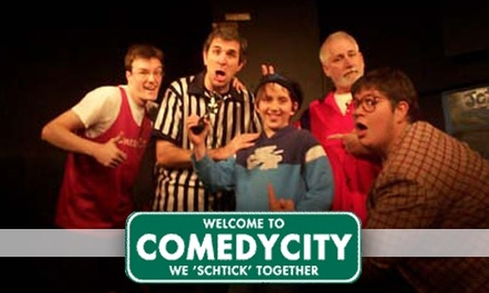 ComedyCity - Old Westport: $10 for Two Tickets to ComedyCity Improv Show ($24 Value)