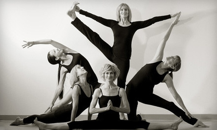Down Under Yoga - Down Under School of Yoga: 10- or 20-Class Punch Card at Down Under Yoga (Up to 78% Off)