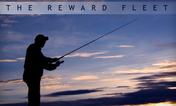 The Reward Fleet - Media and Entertainment District: $25 for a Four-Hour Fishing Excursion from The Reward Fleet ($50 Value)