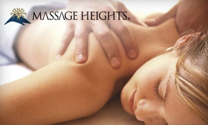Massage Heights - Multiple Locations: Spa Services at Massage Heights. Choose From Three Options.