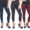 Women's Fleece-Lined Leggings (4-Pack)