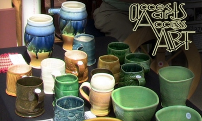 Access Arts - Benton - Stephens: $55 for an Adult Art Class or $35 for a Children's Pottery or Drawing Class at Access Arts