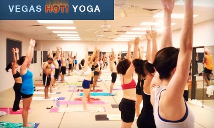 Vegas Hot! Yoga and Pilates - Sovana: $30 for 30 Days of Unlimited Classes at Vegas Hot! Yoga and Pilates ($240 Value)
