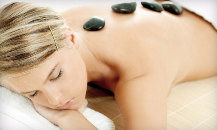 FreeStyle Salon - Mill Bay: 60-Minute Hot-Stone Massage with Optional Facial Treatment at FreeStyle Salon in Mill Bay (Up to 56% Off)