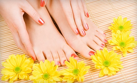 Express Manicure & Pedicure (up to a $45 value) - Anointed Beauty Salon & Day Spa in South Bend
