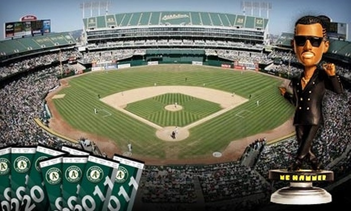 Oakland Athletics - Coliseum Industrial Complex: One Plaza Level Ticket to Oakland Athletics Vs. the Los Angeles Angels of Anaheim. Two Dates Available.