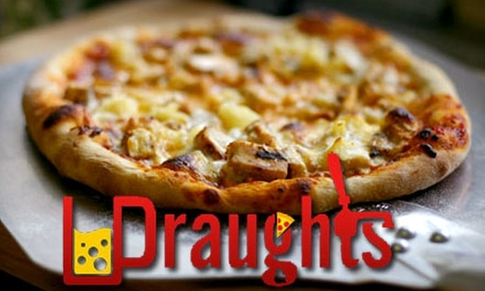 Draughts Restaurant and Bar - Downtown Thousand Oaks: $15 for $30 Worth of Dinner Fare or $5 for $10 Worth of Lunch Fare at Draughts Restaurant and Bar in Thousand Oaks