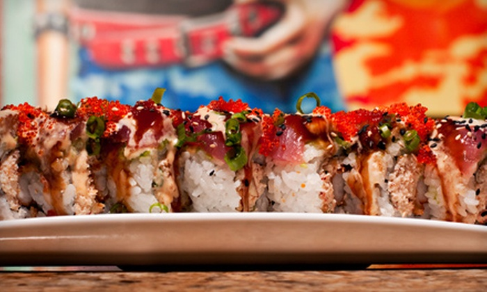 Tokyo Fro's Rockin' Sushi - Arden - Arcade: Sushi-Making Lesson and Sake Tasting for One or Two, Plus, a $10 Gift Card at Tokyo Fro's Rockin' Sushi (Up to 64% Off)