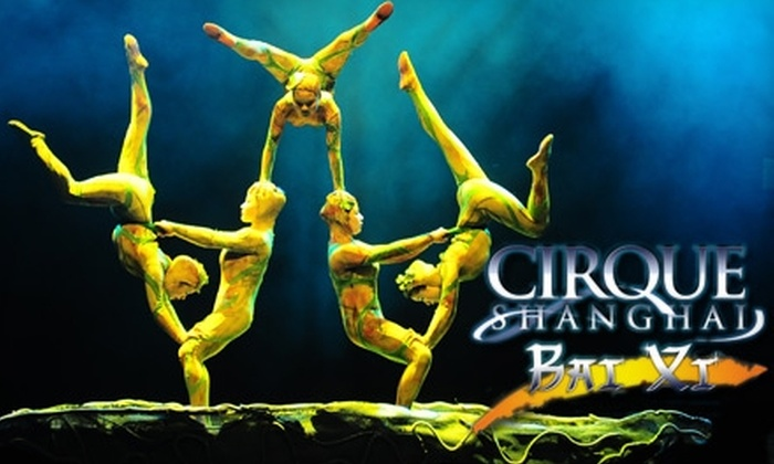 """Cirque Shanghai: Bai Xi"" - Downtown St. Petersburg: One Ticket to ""Cirque Shanghai: Bai Xi"" at the Progress Energy Center for the Arts – Mahaffey Theater. Choose from Three Seating Options."
