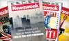 """""""Newsweek"""": One- or Two-Year Subscription to """"Newsweek"""" from Blue Dolphin Magazines (Up to 74% Off)"""
