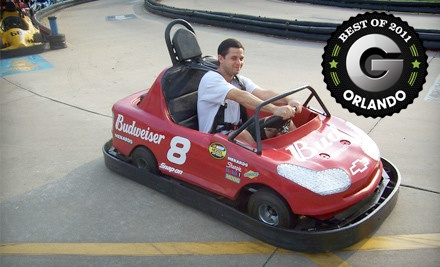 Go-Kart Outing for 2 ($65 value) - Kissimmee Go-Karts in Kissimmee
