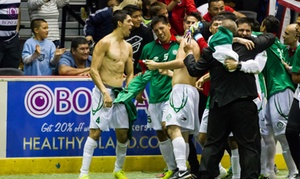 Arena Soccer World Cup: World Cup Arena Soccer Semi-Finals or Championship at Sears Centre Arena on March 28 or 29 (Up to 50% Off)