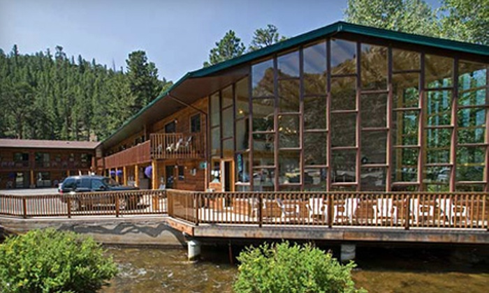 Nicky's Resort - Estes Park: Two-Night Stay in a River Unit Room or a Two-Room Cabin at Nicky's Resort in Estes Park (Half Off)