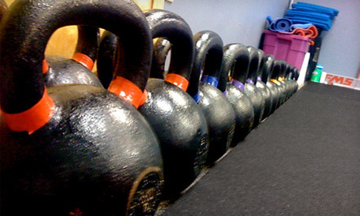 SG Human Performance - North Central Omaha: 5 or 10 Kettlebell Classes or One Month of Unlimited Kettlebell Classes at SG Human Performance (Up to 76% Off)
