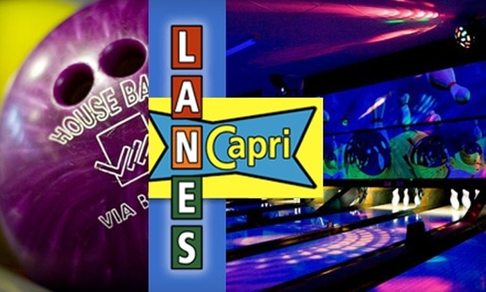 Capri Lanes - Kettering: $5 for Two Games of Bowling and a Shoe Rental at Capri Lanes in Kettering (Up to $10.50 Value)