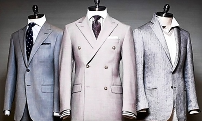Sartori Amici - Doral: Custom-Tailored Suit Package at Sartori Amici (Up to 69% Off). Three Options Available.