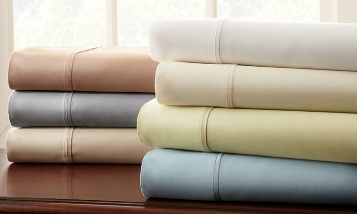 1 000 Thread Count Egyptian Cotton Blend Sheet Sets