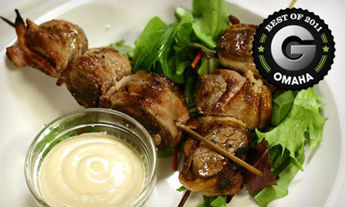 Zin Room - Downtown: $15 for $30 Worth of Contemporary American Dinner Cuisine and Drinks at Zin Room