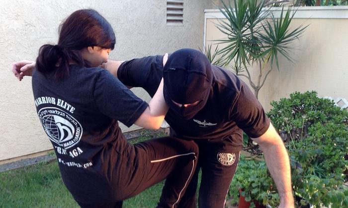 Warrior Elite Krav Maga - Rancho Bernardo: 10 or 20 Drop-In Krav Maga Classes or a 6-Week Women's Self Defense Course at Warrior Elite Krav Maga (Up to 70% Off)