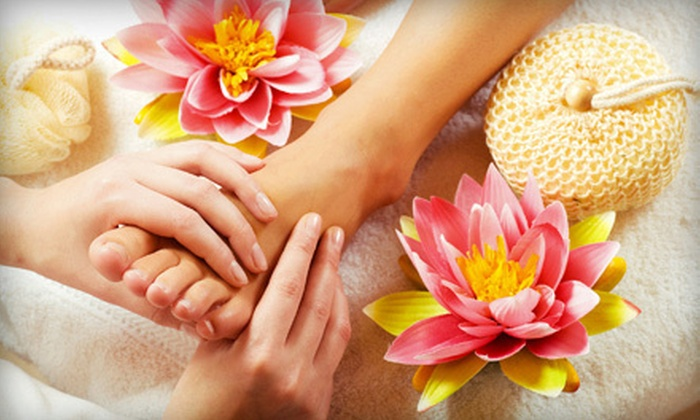 Heaven Wellness Center - Atlanta: One or Two Ionic Foot Detox Treatments with Chair Massages at Heaven Wellness Center (Up to 61% Off)