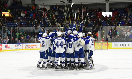 $15 for a Syracuse Crunch Hockey Game at The Oncenter War Memorial Arena on April 10 or 17 ($26.55 Value)
