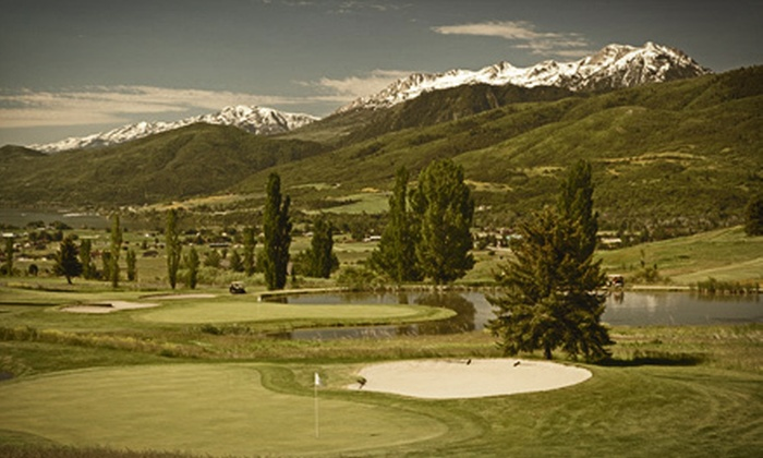 Wolf Creek Utah Golf Course - North Ogden: 18-Hole Round of Golf with Cart Rental and 60 Range Balls at Wolf Creek Utah Golf Course (Up to Half Off)