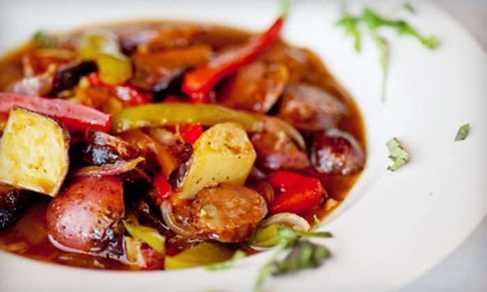 La Luce - West Town: $35 for a Three-Course Italian Dinner with Wine for Two at La Luce (Up to $72.80 Value)