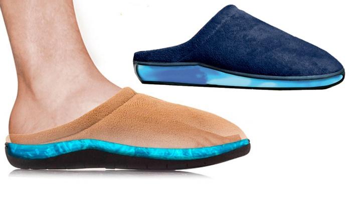 1 o 2 pares de zapatillas de gel relax para estar en casa