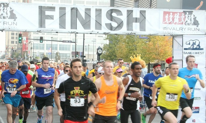 The Rivalry Run - Kansas City: Up to 40% Off The Rivalry Run at The Rivalry Run