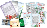 Up to Three Personalised Letters from Santa with Activity Packs from Santa Letters Direct (Up to 53% Off)