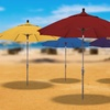 California Umbrella 9' Market Collar Tilt Umbrella