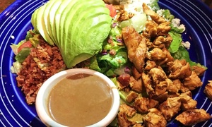 Sabores Mexican Cuisine: $9.50 for $14 Worth of Mexican Food for Weekday Breakfast or Lunch at Sabores Mexican Cuisine