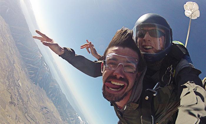 Skydive Lake Tahoe - Skydive Lake Tahoe: $199 for Tandem Skydive at 12,500 Feet at Skydive Lake Tahoe ($255 Value)