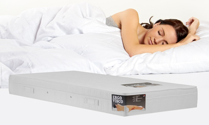 Matras Pocketvering Traagschuim : Ergo visco traagschuim matras groupon goods
