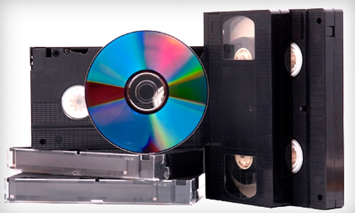 CVMedia - Northville: Convert 5, 10, or 20 Videos to DVDs at CVMedia in Northville. Three Options Available.