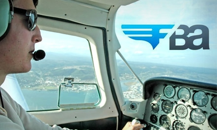 FlyBayArea.com - San Carlos: $75 for a 30-Minute Introductory Flight Lesson with FlyBayArea.com ($129 Value)