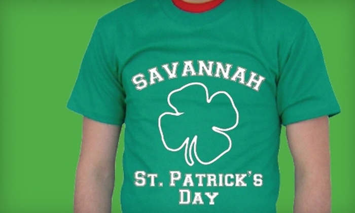 Celebritees: $9 for a St. Patrick's Day T-Shirt from Celebritees ($24 Value)