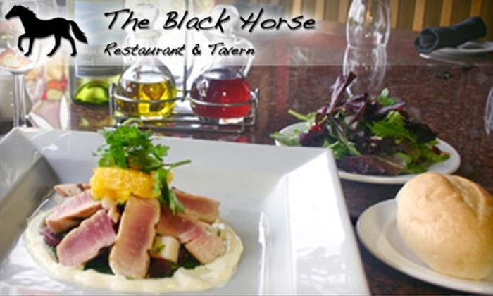 The Black Horse Restaurant and Tavern - East Cocalico: $25 for $50 Worth of Upscale American Cuisine at The Black Horse Restaurant and Tavern