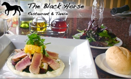 $50 Groupon to The Black Horse Restaurant and Tavern - The Black Horse Restaurant and Tavern in Denver