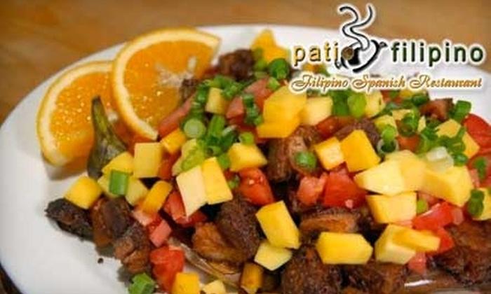 Patio Filipino   Millbrae: $15 For $30 Worth Of Filipino Spanish Fusion  Fare At