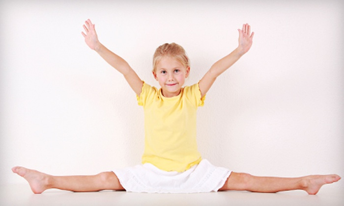 American Twisters - Clarksville: $22 for a Half-Day Kids' Gymnastics Camp and a Pizza Lunch at American Twisters in Clarksville ($62 Value)