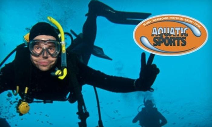 Aquatic Sports - West Portland Park: $22 for Introductory Scuba Diving Lesson at Aquatic Sports ($50 Value)