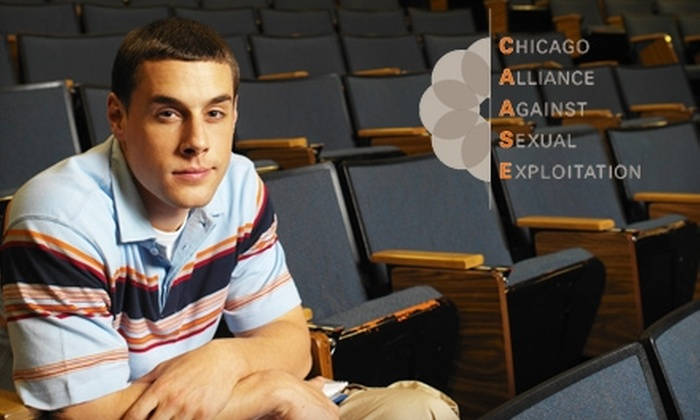 Chicago Alliance Against Sexual Exploitation: Donate $12 to the Chicago Alliance Against Sexual Exploitation to Bring Preventative Curriculum to Local Youths