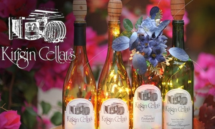 Kirigin Cellars - San Jose: $10 for One Bottle of Fine Wine from Kirigin Cellars in Gilroy (Up to $39.90 Value)