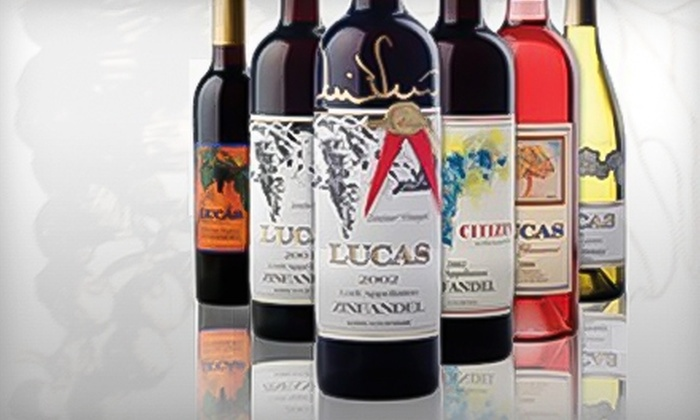 The Lucas Winery - Stockton: $30 for a Wine-Tasting Tour for Two and One Bottle of Tangles Wine at The Lucas Winery ($69 Value)