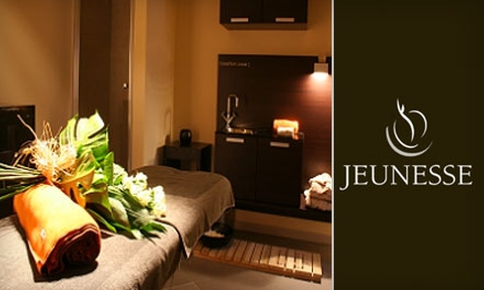 Jeunesse Spa and Salon - Upper West Side: $285 for VIP Couples Massage or $80 for a Massage-Facial Package at Jeunesse Spa and Salon (Up to $570 Value)